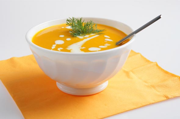 Recette soupe de potiron pour bébé