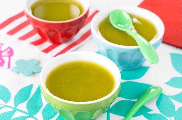 Potage de légumes mélangés