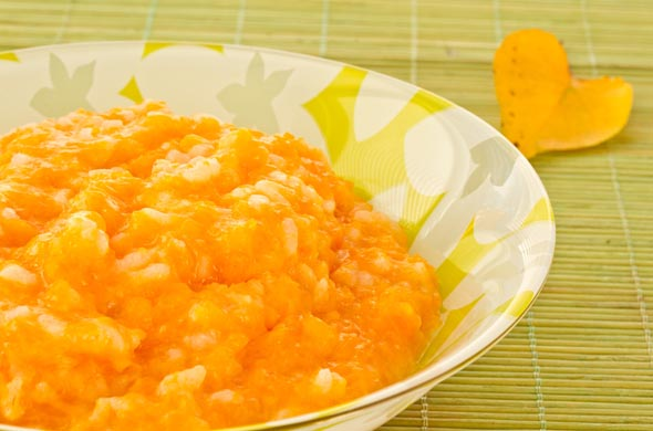 recette petit pot bébé saumon et carottes