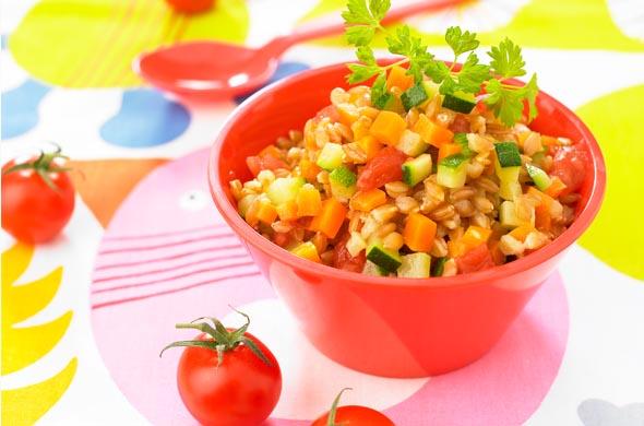Recette de petit pot légumes et épeautre pour bébé (dès 18 mois)