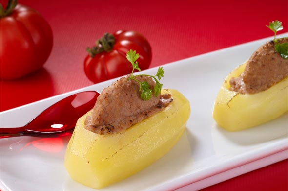 Recette pomme de terre farcie pour bébé (dès 18 mois)