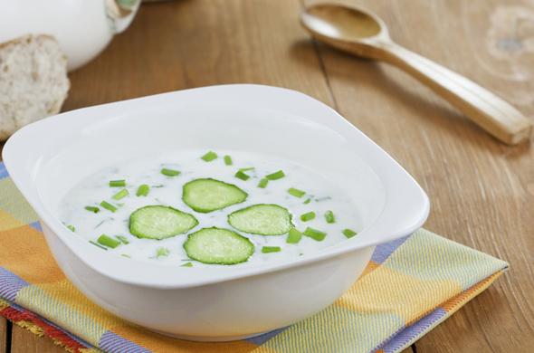 Purée rafraichissante de thon au concombre
