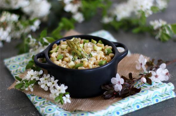 Blésotto aux asperges