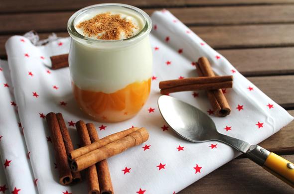 Mango-Zimt-Joghurt