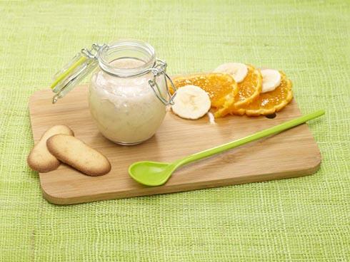 Receta para bebes Merienda de fruta de invierno vitaminada