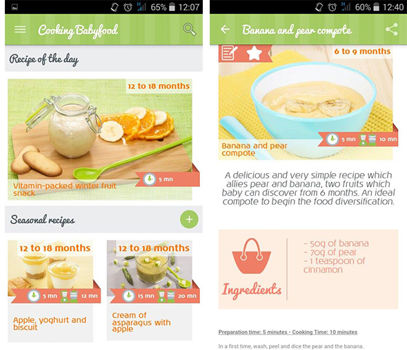 The new cooking babyfood mobile application cooking baby food do a search by foodstuff or by age and even find specific recipes for mums to be or breastfeeding mums cooking babyfood is an application designed for forumfinder Gallery