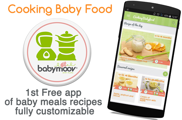 The new cooking babyfood mobile application cooking baby food the new cooking babyfood mobile application forumfinder Gallery