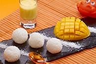 recette riz et coulis de mangue pour bébé