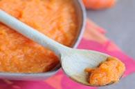 recette petits pots purée carotte orange pour bébé