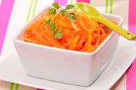 recette carotte râpées vapeur pour bébé