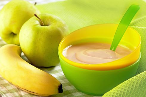 compote bébé pomme banane coing recette
