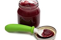 recette petits pots compote pomme cannelle coulis fraises pour bébé