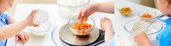 Préparer un repas avec bébé pour l'éduquer au goût et à la cuisine !