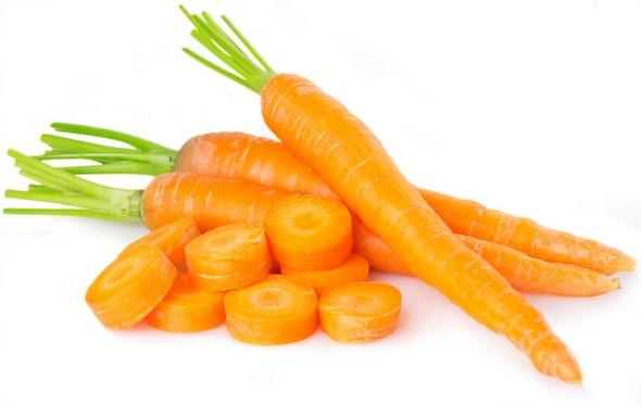 La zanahoria para bebé