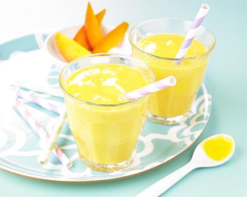 dessert pour l'été mangue pour bébé