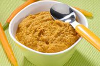 recette petits pots purée carotte foie de veau pour bébé