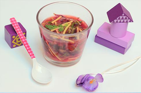 petit bouillon de légumes pour bébé