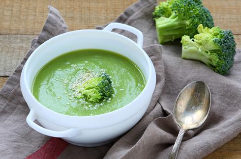 petite purée brocoli et jambon