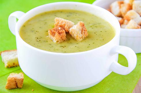 petite soupe poireau courgette bébé
