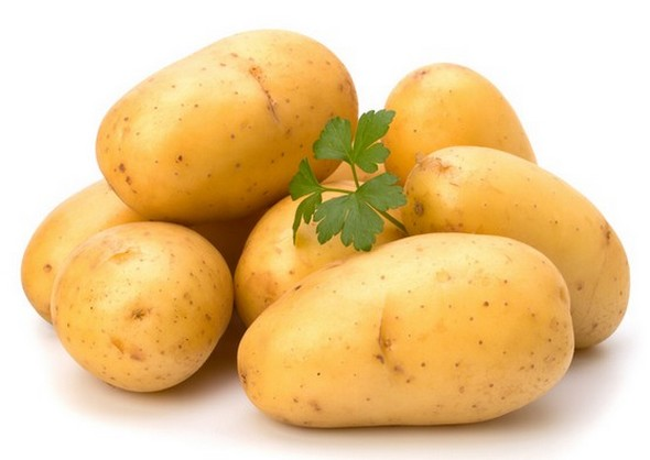 Potatoes for baby food