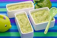 recette petits pots purée colin poisson épinards pour bébé