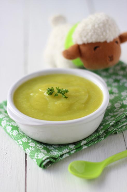 recepte voor baby Courgettepuree