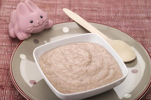 recepte voor baby Knolselderijpuree met aardappel