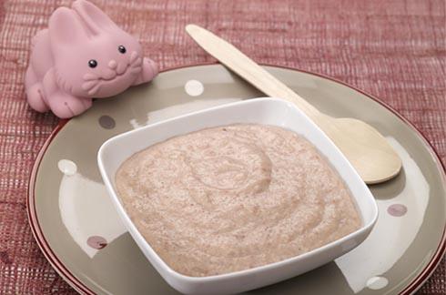 recetas para bebés Puré de apio nabo y patata