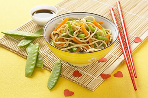recette bébé nouilles chinoises