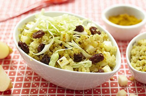 recette bebe quinoa crudités