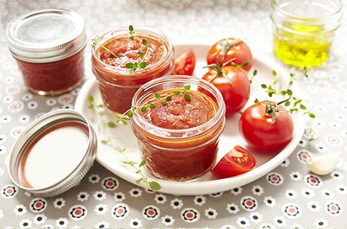 La premi re conserve la tomate de b b cuisine de b b - Temps de conservation compote maison pour bebe ...