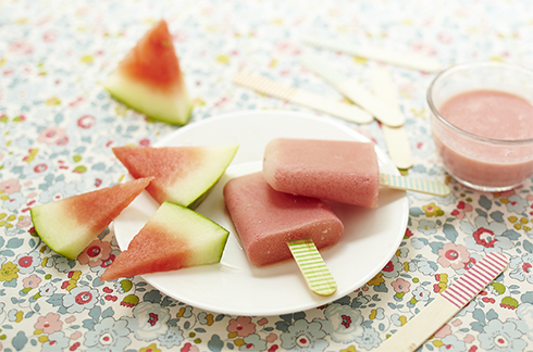 recette dessert bébé glace pasteque