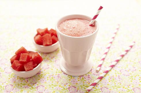recette dessert bebe smoothie pasteque