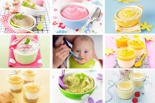 Quelles Recettes De Petits Pots Pour Bébé De Mois Cuisine - Recette de cuisine pour bebe