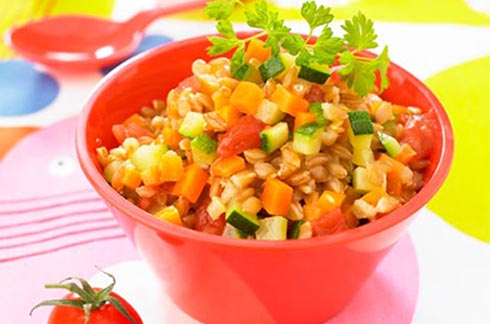 recipe Spelt with vegetables babyfood