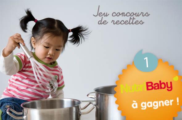 R sultats jeu concours de recettes cuisine de b b for Jeu concours cuisine