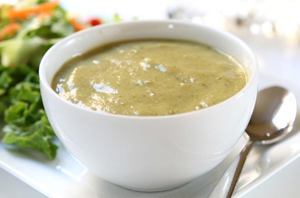 Saumon aux légumes verts