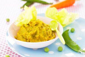 Papillote de laitue aux légumes et jambon