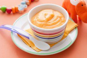 Onctueuse purée de légumes d'hiver pour bébé