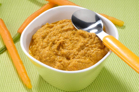 Mon premier foie de veau aux carottes cuisine de b b - Eau de cuisson des carottes pour bebe ...