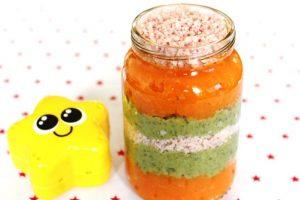 Duo de légumes et jambon
