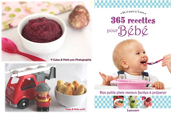 Un Livre Recettes Pour Bébé à Gagner Cuisine De Bébé - Recette de cuisine pour bebe