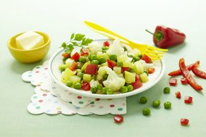 Petits légumes rissolés