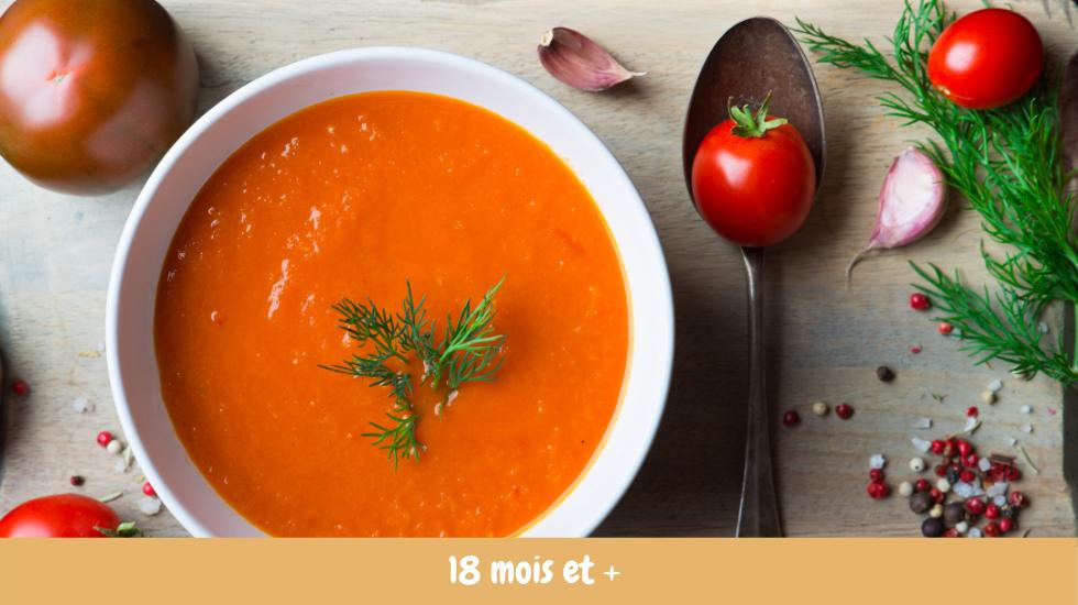 velouté tomate amande