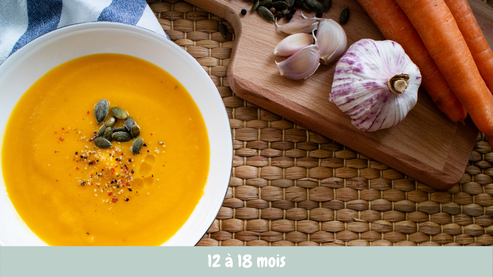 soupe courgette carotte oignon