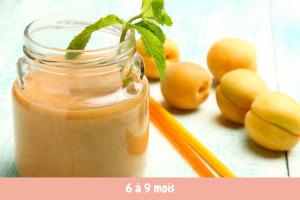 smoothie abricot banane