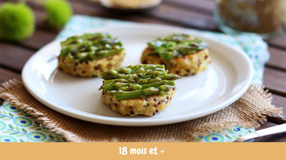 asperge quinoa