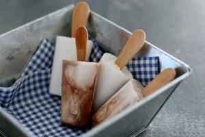 Esquimaux au lait de coco et chocolat