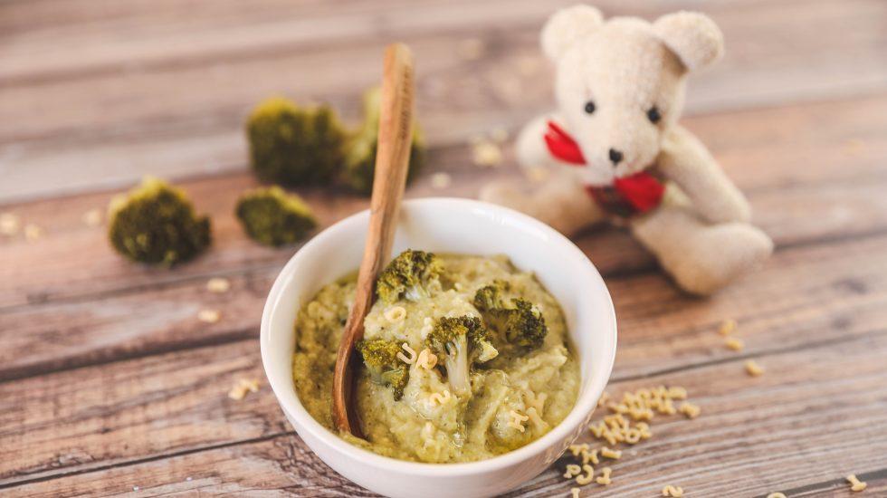 Pâtes brocoli nutribaby