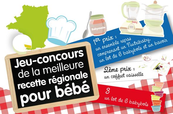 Jeu Concours De La Meilleure Recette Regionale Pour Bebe Cuisine De Bebe